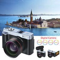 Full HD 1080P Digital Camera Retractable Len Camcorder WiFi Rotation Flip Screen