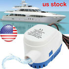 Automatic Submersible Bilge Water Pump 12V 1100GPH with Float Switch for Boat RV photo