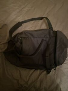 Everlane Large Black Duffle/Backpack