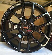 26'' inch GMC Sierra Denali Wheels Silverado Avalanche Suburban Tahoe Black Rims