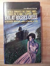 EVIL AT ROGER'S CROSS (AKA: The Iron Facade) by CATHERINE MARCHANT
