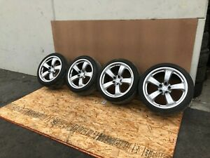 """NISSAN 350Z 2003-2009 OEM WHEELS TIRES RIMS FORGED 19"""" AND 18"""" (SET)"""