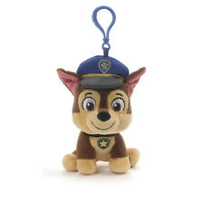 GUND Paw Patrol Chase Puppy Dog Backpack Clip, 4""