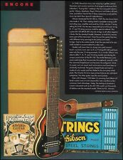 The 1940 Gibson EH-185 10-sting lap guitar 1996 full page article