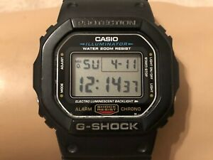 Men's Casio G-Shock Digital Watch - Black / DW-5600E