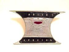 Original OEM 1955 Buick Special Dash Name Plate W/ Brake Light Lens