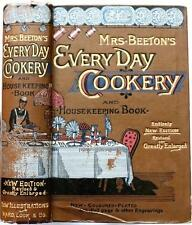 c1880 BEETON'S EVERY-DAY COOKERY AND HOUSEKEEPING BOOK ILLUSTRATED COLOR PLATES