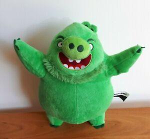 Angry Birds Plush Green Pig Leonard King Mudbeard Chuckles Soft Stuffed Toy 30cm