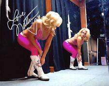 "WWE SIGNED PHOTO NATALYA TOTAL DIVAS WRESTLING DIVA 8x10"" PROMO GYM WARM UP"