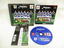 PS1 WINNING ELEVEN 2000 U23 WORLD SOCCER PES with SPINE Card * Playstation p1
