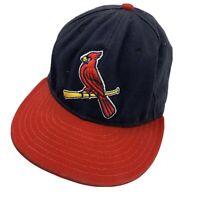 St Louis Cardinals New Era Ball Cap Hat Fitted 7 1/4 Baseball Adult