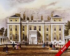 MARLBOROUGH HOUSE WESTMINSTER CENTRAL LONDON PAINTING ART REAL CANVAS PRINT