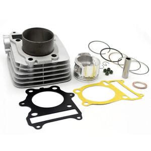 72mm Cylinder Piston Rings Gasket Kit For Suzuki GN250 1985-2001 TU250 1997-2001