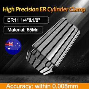 ER11 1/4'' & 1/8'' Precision Spring Holder Collet Set CNC Lathe Tool Workholding