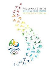 PANINI RIO 2016 OLYMPIC GAMES OFFICIAL PROGRAM PORTUGUESE ENGLISH SPANISH NEW