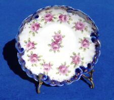 Antique/Vintage Nippon Scalloped Porcelain Bowl With Roses