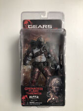 Gears of War 2 Locust Grenadier Helmeted w/ Flamethrower Figure NECA