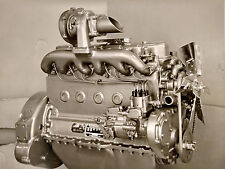 1930s CABINET PHOTO CANTON OH HERCULES MOTOR COMPANY PRESENTATION ENGINE