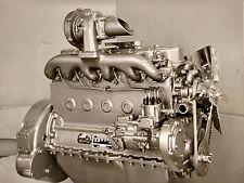 1930s CABINET PHOTO CANTON OH HERCULES MOTOR COMPANY PRESENTATION ENGINE