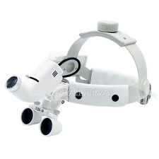 3.5X Surgical Headband Medical Dental Optic Glass Binocular Loupes DY-106 ITALY