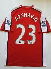 Arsenal London Andrey Arshavin Nike Fit Authentic Jersey Size M