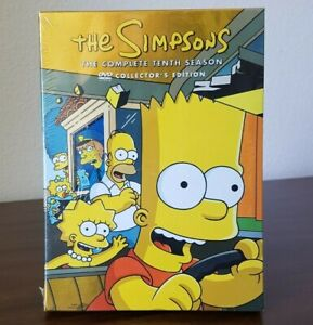 The Simpsons - Complete Tenth Season 10 Collector's Edition NEW and SEALED -READ