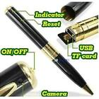 Mini Pen HD Spy DV Hidden Pinhole DVR Digital Video Recorder Camera Camcorder BS