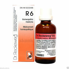 Dr Reckeweg R6 Germany Homeopathic Medicine Drops for Influenza Mucous Membranes