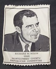 Richard M Nixon 1960 Montgomery County (PA) Republican Committee Campaign Ribbon