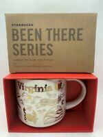 Starbucks Been There Series Holiday Gold Virginia Mug 14 oz