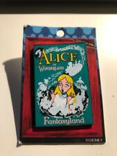 Disney trading pins / Alice in Wonderland Poster LE 1500