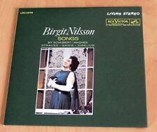 Birgit Nilsson - Lieder Schubert Sibelius Grieg Wagner Strauss - CD Neuf New