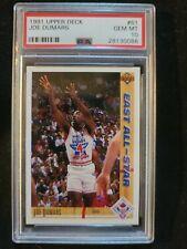 New listing 1991 Upper Deck Basketball #61 Joe Dumars PSA 10 Gem Mint HOF Champion