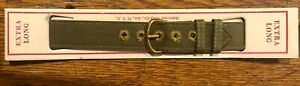 XTRA LONG 1940's WWII World War 2 Watch Band NOS  USA Military Issue -B1FLG