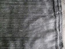 """Silvery Gray Silk Shantung   16 Yds   W 43""""  By the Yard"""