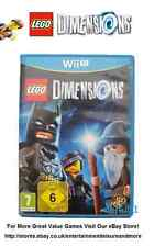 LEGO Dimensions Wii U Game (Software Disc Solus) Disc Is As  N E W  Condition !!