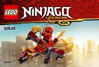 LEGO ninjago Legacy Feu Vol 30535 Sac en Plastique Neuf Emballé