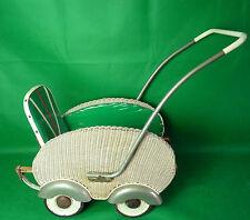 alter Puppenwagen Buggy  Korb  40er- 50er Jahre Vintage