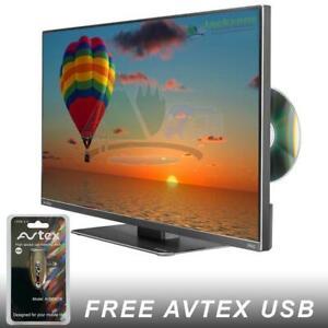 "AVTEX L199DRS PRO 19.5"" HD 12V TV DVD CARAVAN CAMPERVAN MOTORHOME BOAT TRUCK"