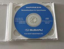 Werkstatthandbuch auf CD Subaru Impreza Hybrid - Version Stand 05/2010