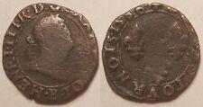 Henri III, Double tournois 1588? B Rouen !!