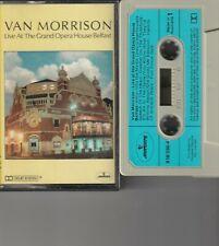 Van Morrison – Live At The Grand Opera House Belfast Cassette Tape