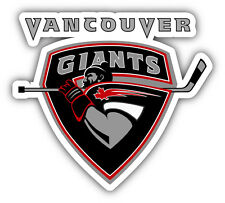 Vancouver Giants WHL Hockey Logo Car Bumper Sticker Decal 5'' x 4''