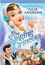 The Singing Princess - Animation - Magical voice of Julie Andrews (DVD, 2004) NR