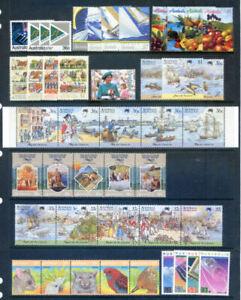 Australia 1987 year set complete fine unhmounted mint (2020/11/26#01)