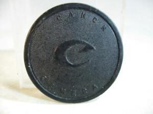 Vintage RARE Canon F1 F-1 Original Push On Body Cap #84