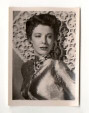 Signe Hasso 1951 Greiling Film Star Series E Cigarette Card #153