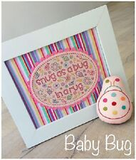 MELLY & ME BABY BUG STUFFIE TOY AND STITCHERY PATTERN