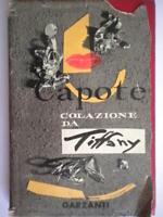 Colazione da Tiffanycapote trumanGarzantiromanzi moderni rilegato romanzo 65