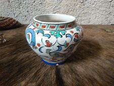 old greek ceramic vase ikaros rhodes iznik style